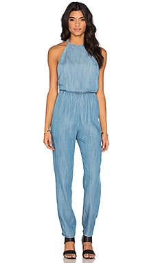RVCA Be About It Jumpsuit in Chambray