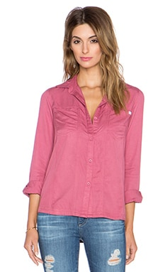 RVCA Tricks of Trade Button Up in Rosewater