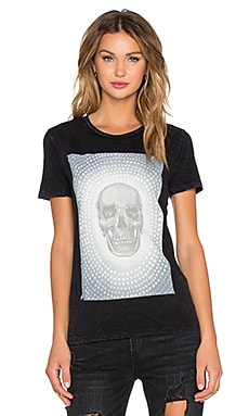 RVCA Orbit Graphic Tee in Black