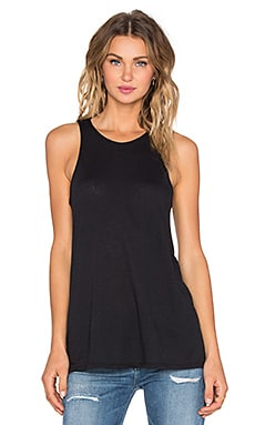 RVCA Label Tank in Black