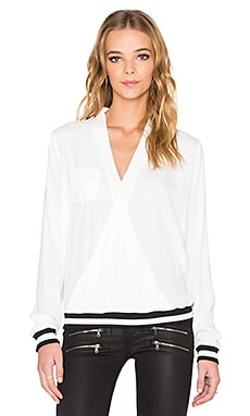 RVCA Centra Long Sleeve Top in White