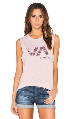 Lucidity VA Graphic Tank in Tea Rose