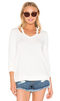 RVCA Clarity Top in Vintage White