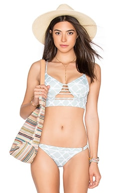 Crystalized Bralette in Cool Mint