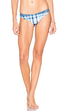 Isla Tie Dye Cheeky Bottom in Indigo