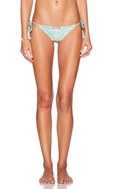 RVCA Tide Tripper Cheeky Bottom in Olive
