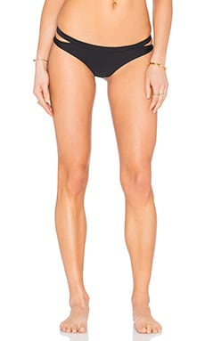 Seaward Cheeky Bikini Bottom in Black