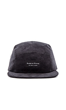 Raised by Wolves Algonquin Camp Cap in Black