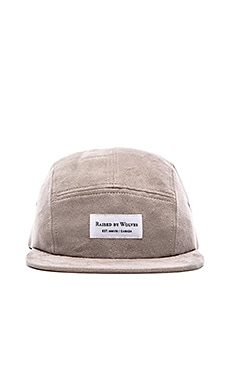Raised by Wolves Algonquin Camp Cap in Stone