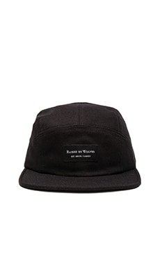 Raised by Wolves Laurentian Camp Cap in Black