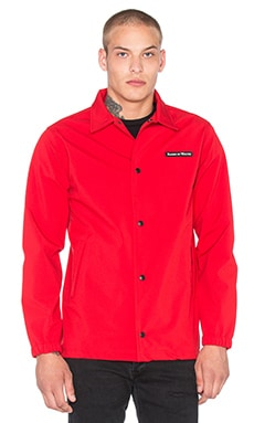 Raised by Wolves Nepean Coaches Jacket in Red