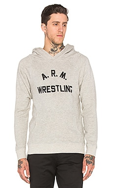 Rxmance Arm Wrestling Hoody in Oatmeal