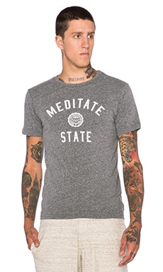 Rxmance Meditate State Tee in Heather Grey