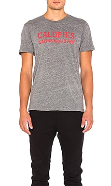 Rxmance Calories Tee in Heather Grey