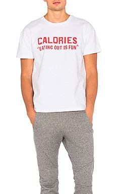 Rxmance Calories Heavy Box Tee in White