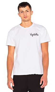 Rxmance Vegetables Heavy Box Tee in White