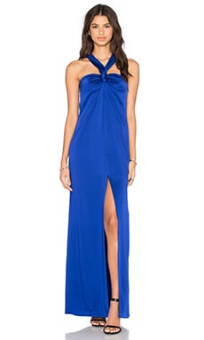 RACHEL ZOE Berkley Gown in Ocean
