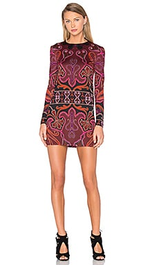 RACHEL ZOE Magnus Dress in Bordeaux