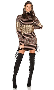 Fran Sweater Dress in Multi