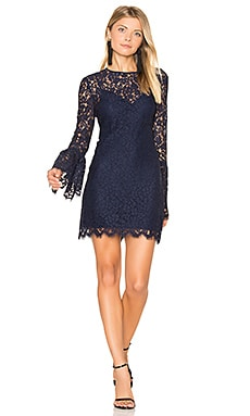 Isla Mini Dress in Navy