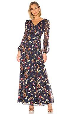 Купить Платье annabel - RACHEL ZOE синего цвета