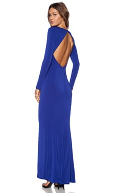 RACHEL ZOE Salina Cut Out Maxi Dress in Ocean