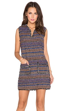 RACHEL ZOE Bay Fringe Dress in Multi