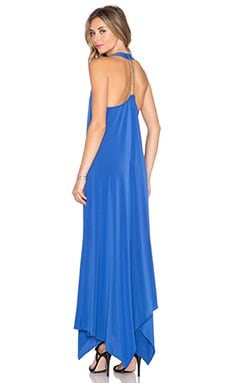 RACHEL ZOE Athena Halter Maxi Dress in Marrakesh Bluse