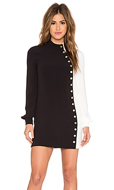 RACHEL ZOE McKell Dress in Black & White