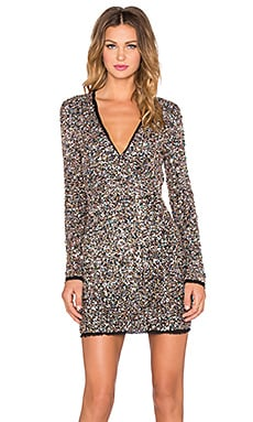 RACHEL ZOE Micah Dress in Confetti Sequin