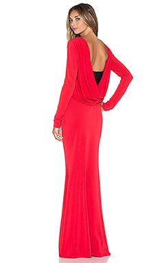 RACHEL ZOE Maurie Maxi Dress in Red