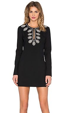 RACHEL ZOE Zen Dress in Black