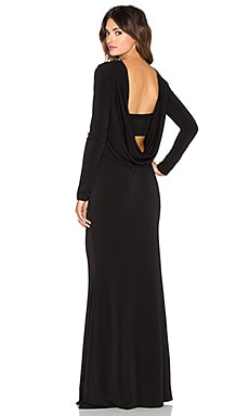 RACHEL ZOE Maurie Maxi Dress in Black
