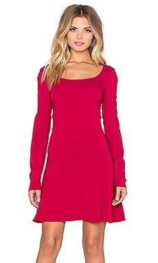 RACHEL ZOE Toril Mini Dress in Berry