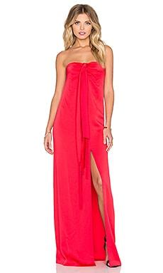 RACHEL ZOE Nico Drape Gown in Pink