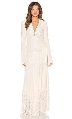 RACHEL ZOE Annie Dress in Ecru