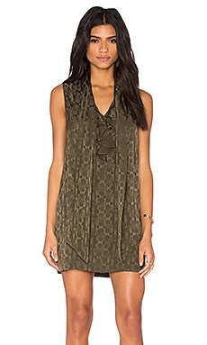 Whitney Dress in Army