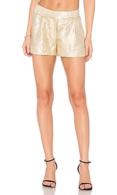 Chou Shorts in Gold