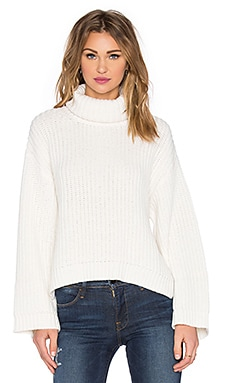 RACHEL ZOE Jordy Sweater in Ivory