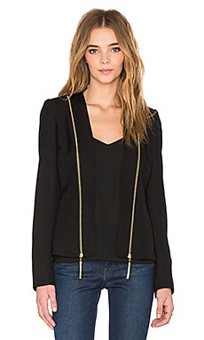 RACHEL ZOE Hilary Blazer in Black