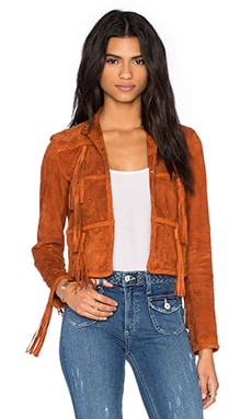 RACHEL ZOE Honor Jacket in Terracotta