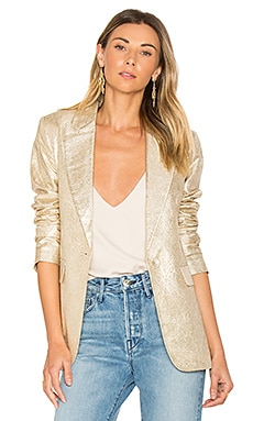 Sadie Blazer in Gold