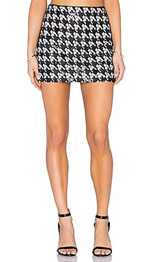 RACHEL ZOE Sara Skirt in Black & White