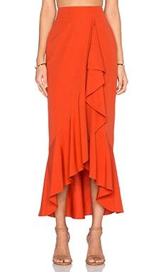 RACHEL ZOE Gisele Maxi Skirt in Spice