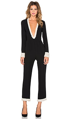 RACHEL ZOE Corbin Jumpsuit in Black