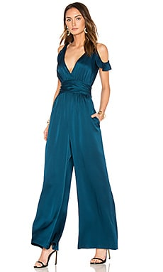 Cora Jumpsuit in Dark Cobalt
