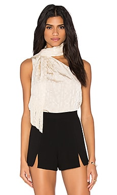 RACHEL ZOE Erica Top in Ecru