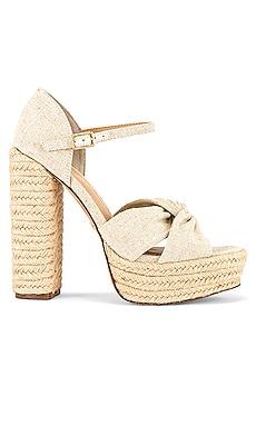 Knotted Platform Sandal RACHEL ZOE $259