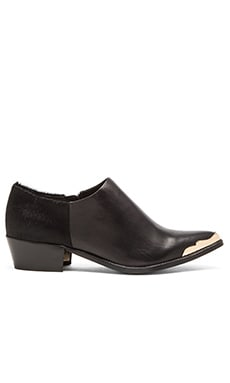 RACHEL ZOE Nat Bootie in Black