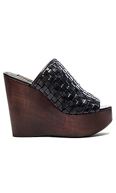 RACHEL ZOE Kiley Wedge in Black